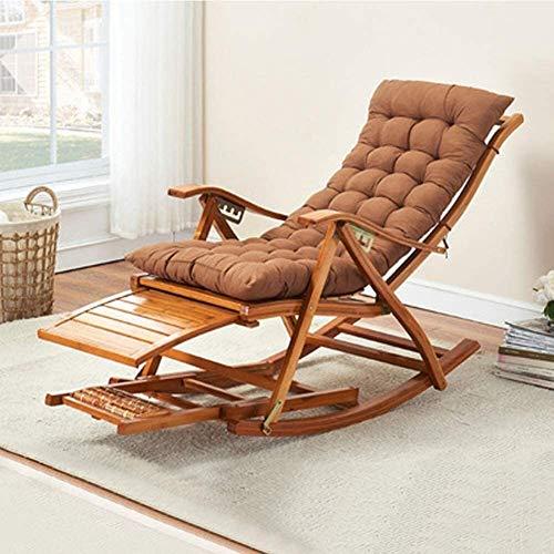COLOM Garden Zero Gravity Chair Portable Reclining Lawn Chairs Portable Folding Sun Lounger,Folding Zero Gravity Chairs,0-170° Lying Flat, Thick Bamboo, Durable, Load-Bearing