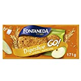 Fontaneda Digestive Galletas de Cereales con Manzana y Avena, 171g