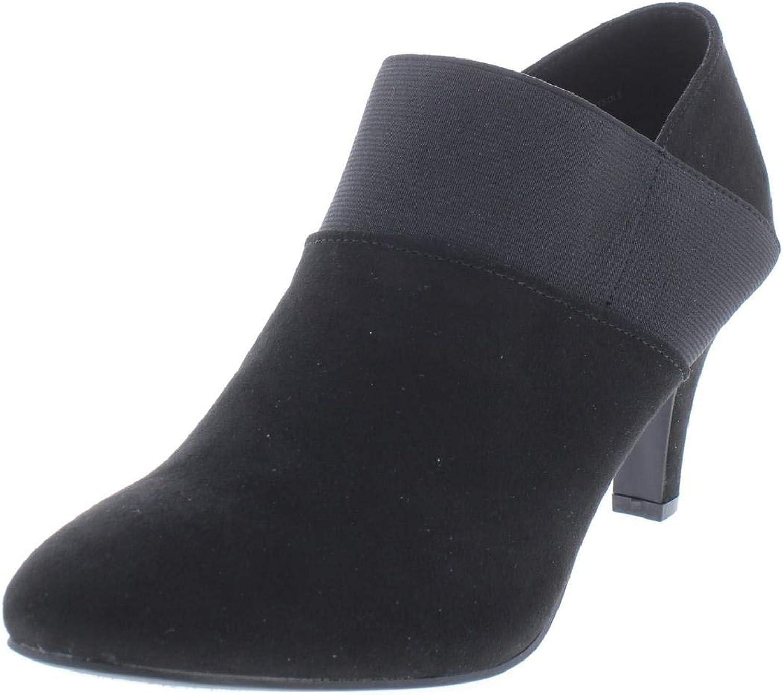 Karen Scott Womens Bryann Almond Toe Ankle Shooties