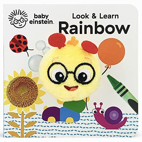 Look & Learn Rainbow (Finger Puppet Book Baby Einstein)