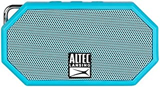 $39 » Altec Lansing iMW255-BLU / IMW257-AB Mini H2O Bluetooth Waterproof, Sandproof, Snowproof, Dustproof, and Shockproof Wirele...