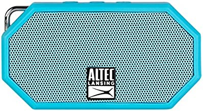 Altec Lansing iMW255-BLU / IMW257-AB Mini H2O Bluetooth Waterproof, Sandproof, Snowproof, Dustproof, and Shockproof Wireless Speaker, Styles and Colors May Vary