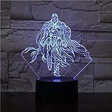 La Sala de Estar de los niños de la Gente Cambia el Color de la luz de inducción táctil decoración de luz Nocturna Regalo de luz