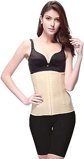 DHINGM Women Waist Trainer Shapewear Postpartum Cincher Corset for Weight Loss Tummy Control Body Shaper (Size : L)