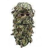 Masque intégral de Cagoule de Camouflage 3D Wargame Cyclisme Chasse Armée Vélo Casque Militaire Doublure Tactical Airsoft Cap - Camouflage