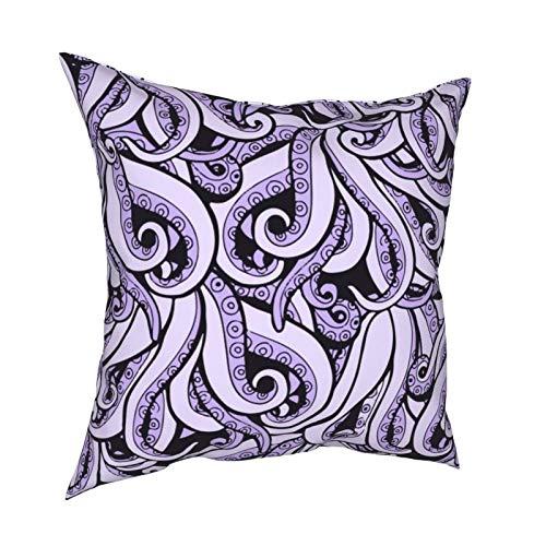 Ursula - Funda de cojín cuadrada inspirada en la bruja del