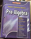 Glencoe Pre-Algebra Chapter 1 Resource Masters