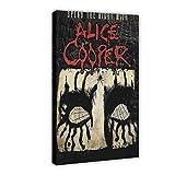 Alice Cooper Rock Band Leinwand Poster Wandkunst Dekor