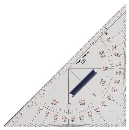 Linex Nautischer Winkelmesser 3200MRH 45° Hyp. 320 mm