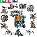 CIRO solar robot kit 12 in 1 educational STEM learning science building toys for kids age 8-12