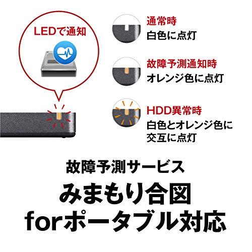 BUFFALOUSB3.2Gen2ポータブルSSD960GB名刺サイズ読込速度530MB/s日本製PS5/PS4(メーカー動作確認済)耐衝撃・コネクター保護機構ブラックSSD-PGM960U3-B/N
