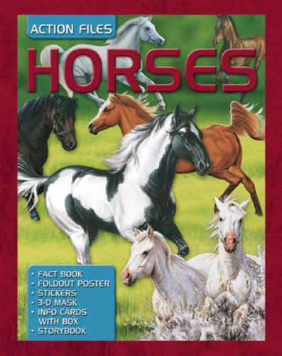 Horses [With Fact Book & Storybook and Stickers and Foldout Poster and 3D Mask/Info Cards with Box and Pla (Action Files)