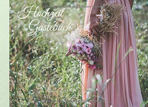 Gästebuch Hochzeit: Romantisches Hochzeitsgästebuch für den schönsten Tag im Leben. Liebevoll gestaltetes Buch für Wünsche und Gedanken der Gäste, ... und blanko Seiten zum selbstgestalten.