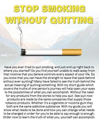 Stop Smoking Without Quiting