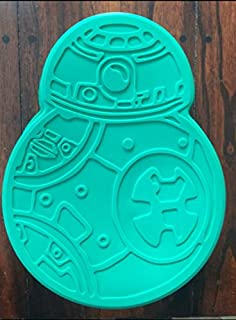 Star Wars BB-8 BB8 DROID Silicone Birthday Cake Pan Mold Tray