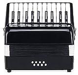 Classic Cantabile 00030768 - Acordeón para niños 8 bajos, color negro