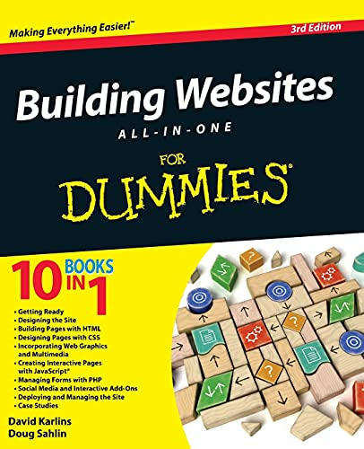 Building Websites All-In-One For Dummies