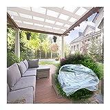 PENGFEI Toldo Impermeable, Paño Grueso A Prueba De Lluvia para Protección De Plantas De Jardín Al Aire Libre, Funda Impermeable Anti-envejecimiento, 400g / ㎡ (Color : Claro, Size : 2x4m)