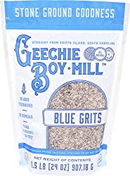 GEECHIE BOY MILL STONE GROUND BLUE GRITS MADE OF UNENRICHED CORN