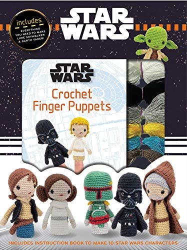 Star Wars Crochet Finger Puppets (Crochet Kits)