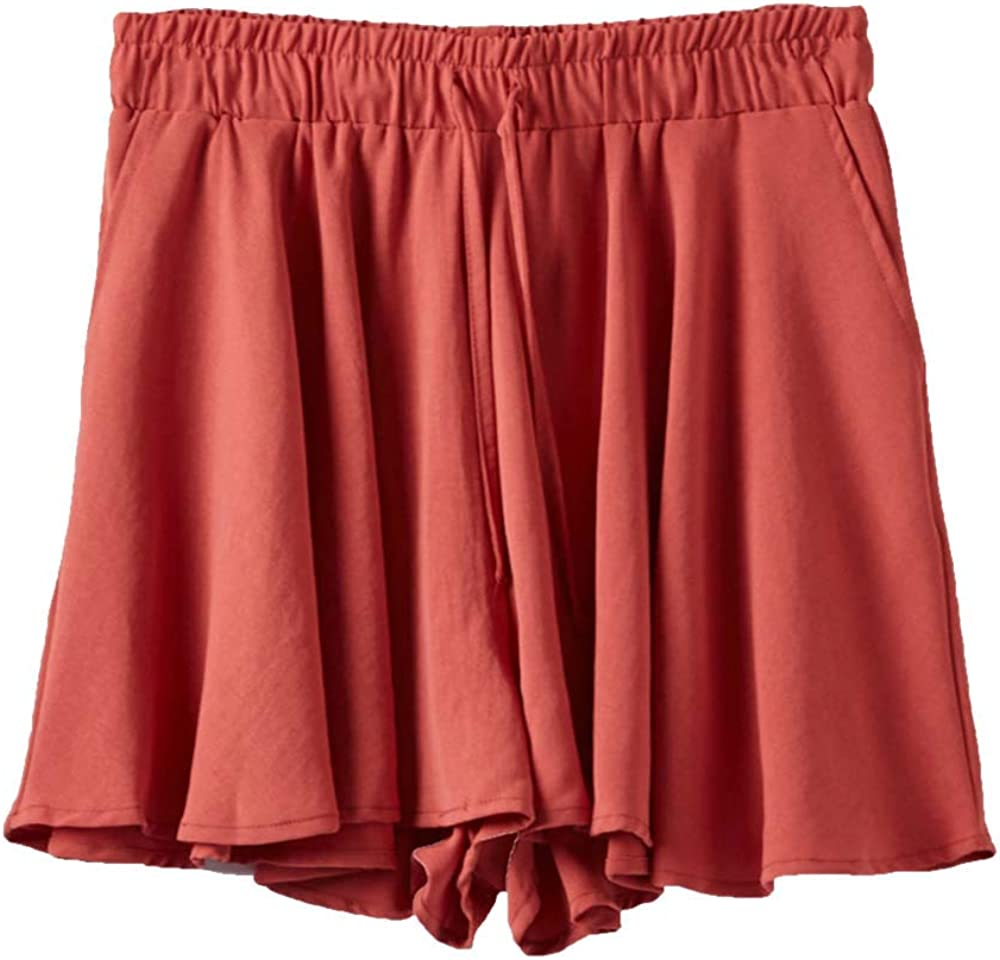 Kangqifen Women Summer Plus Size Skirts Wide Shorts Hig with Bargain excellence sale Leg