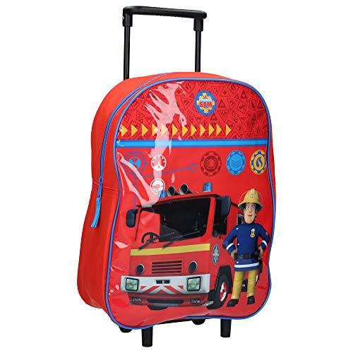 Feuerwehrmann Sam Kindertrolley - Feuerwehrauto - Rot