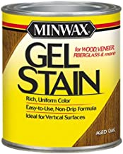 Minwax 66020000 Gel Stain , quart, Aged Oak