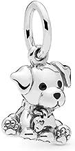 PANDORA Labrador Puppy Dog 925 Sterling Silver Charm - 798009EN16