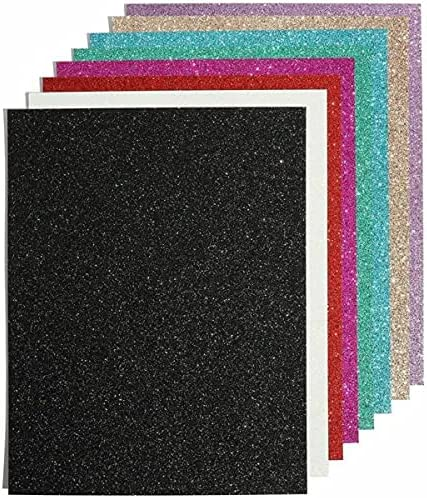 for Glitter Cardstock Paper DIY Outlet unisex ☆ Free Shipping Crafts 24 Shee 11 in x 8.5