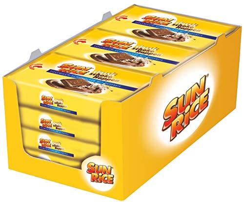 Sunrice mit Puffreis gefüllte Schokolade 36x45g