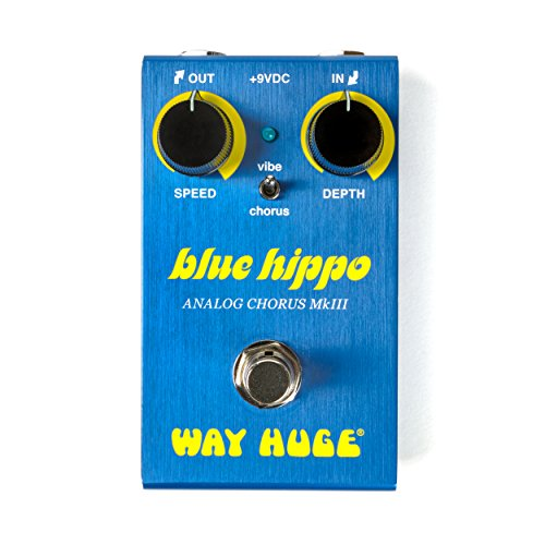 Way Huge Smalls Blue Hippo Analog Chorus Guitar Effects Pedal (WM61)