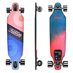 COOL & FUN : Teamgee is committed to providing skateboarders with the highest quality and most fashionable electric skateboards.H9 series is light in weight and small in size ,the best choice of skateboard lovers. ULTRA LIGHT:With only 15.3lbs/6.95kg...