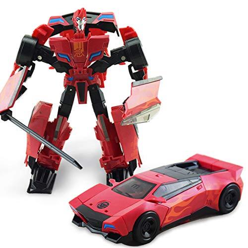 Siyushop Jouet Transformers, Man Auto Model, Heroes Rescue Bots, Jouets Deformed Car Les Enfants, Modèle De Robot De Combat, Enfants De 3 Ans Et Plus ( Color : 2 )