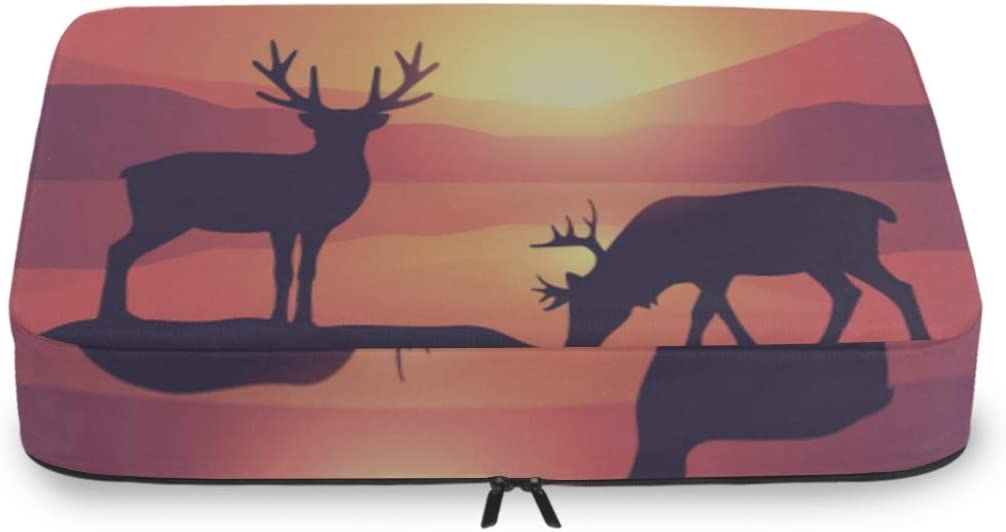Carry On Organizers For Travel Wildlife Two Moose Beautiful Lake Cheap super special price free