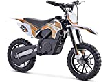 24v 500w Electric Dirt Bike Motocross Scooter 3 Speed Selectable Motorcycle