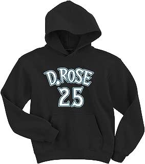 The Tune Guys Black Minnesota Rose D Rose Logo Hooded Sweatshirt