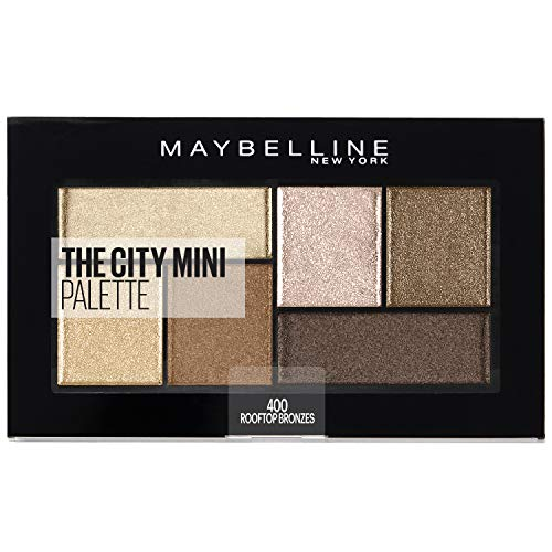 Maybelline New York The City Mini Palette 400 Rooftop Brons, 1 stuks (1 x 6 g)