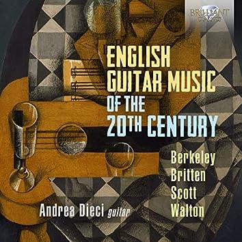 English Guitar Music of the 20th Century, Berkeley, Britten, Scott & Walton