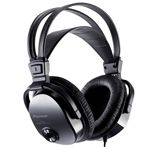 Pioneer SE-M521 - Auricular Optimizados para musica y pelicula, 3.5 m, Negro