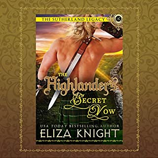 The Highlander's Secret Vow cover art