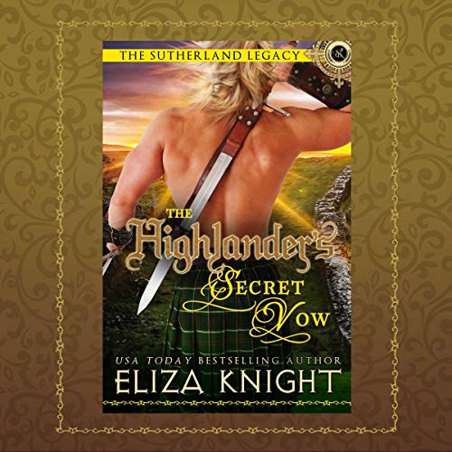 The Highlander's Secret Vow audiobook cover art