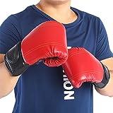 Nicoone Guantes de boxeo, MMA Punch Bag Training Mitts con acolchado para tren Muay, tailandés, kick-boxing, saco de boxeo y Sparring