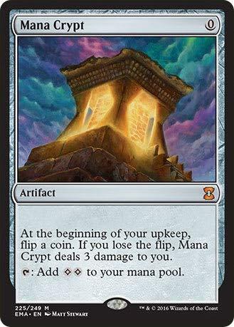 Magic The Gathering - Mana Crypt (225/249) - Eternal Masters