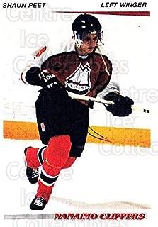 (CI) Shaun Peet Hockey Card 1992-93 British Columbia Junior Hockey League 108 Shaun Peet
