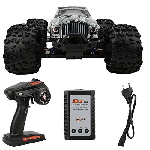 Lairun Große Größe 1/8 Hochgeschwindigkeit 90 km/h 4WD 2,4 GHz Ferngesteuerter LKW,Ferngesteuertes Auto für Kinder Erwachsene,Elektrischer bürstenloser Offroad-Monstertruck,RC Drift Rennwagen