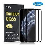Ylife Panzerglas Schutzfolie Kompatibel iPhone 11 Pro/iPhone X/XS,3D Full Coverage 9H Härte...