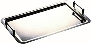 joyMerit Stainless Steel Dinner Plate 20cm 23cm Round Strong Outdoor Camping Picnic Golden 20cm