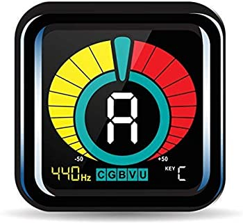 Kliq UberTuner Clip-On Tuner for All Instruments