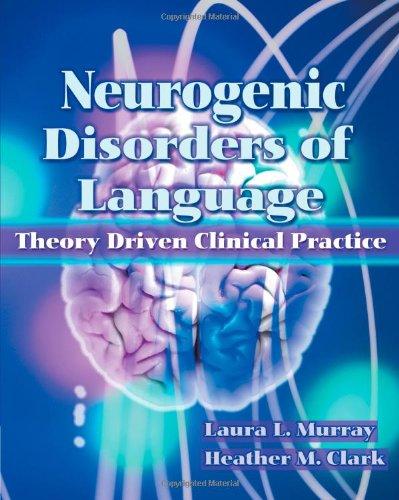 Neurogenic Disorders of Language