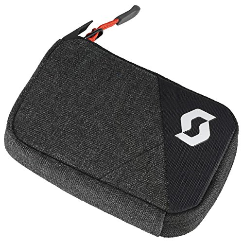 Scott Wallet Brieftasche Geldbeutel grau/schwarz/rot